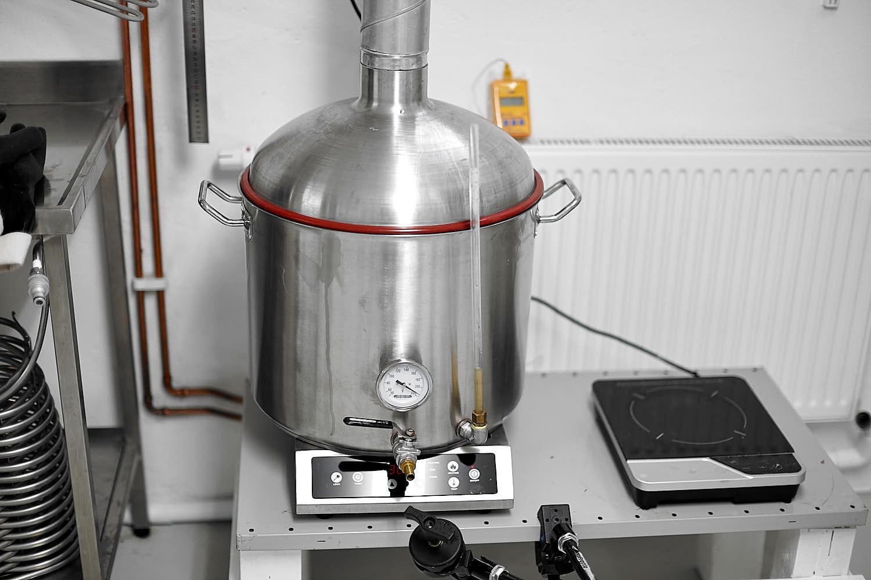 Experimentsbryggning (Helles) | Lindh Craft Beer